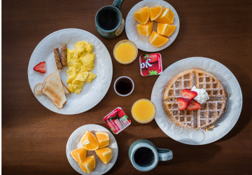 Enjoy Our Breakfast, Homemade Daily